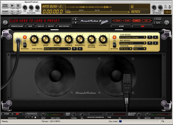 amplitube review guitar amp and effects software. Black Bedroom Furniture Sets. Home Design Ideas