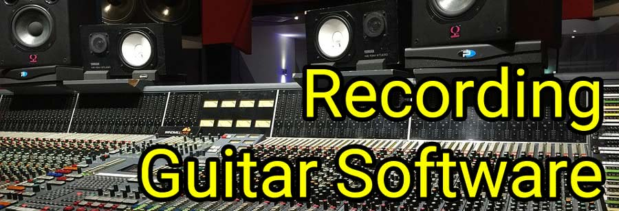 free recording guitar software: audacity