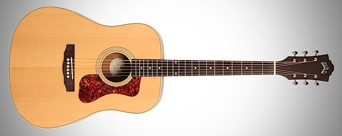 Guild D-240E acoustic guitar