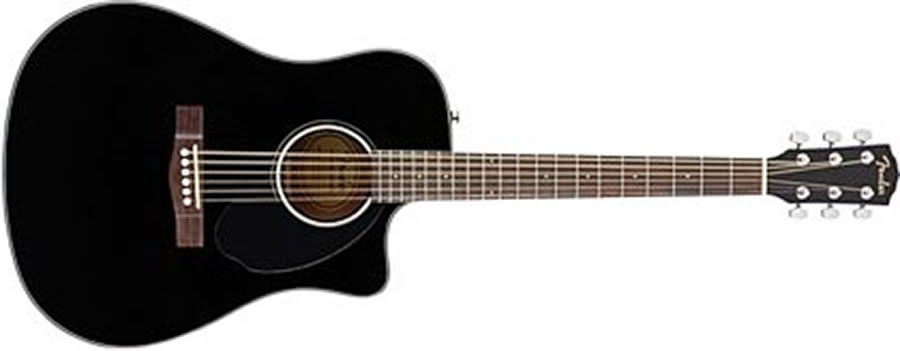 Fender CD-60SCE acoustic guitar