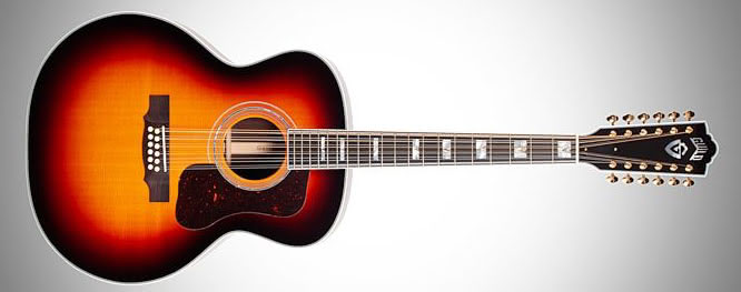 Guild F-1512E acoustic guitar