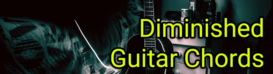 diminished guitar chords