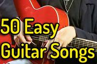 50 Easy Guitar Songs | Step-by-step List article icon