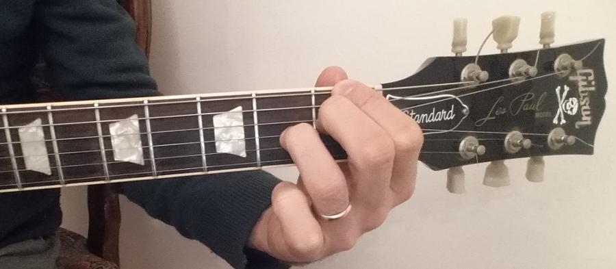 f7 guitar chord fingering position 5
