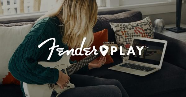 Fender Play online guitar lessons