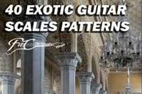 Free Guitar Pdf Ebook - 40 Exotic Guitar Scales Patterns article icon