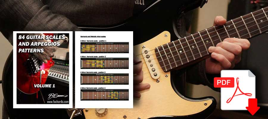 free ebook guitar and arpeggios chart
