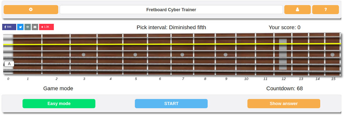 guitar interval trainer
