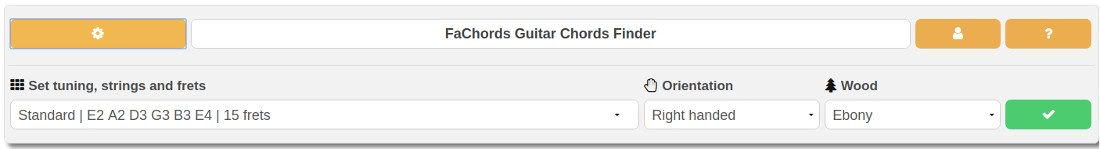 chord finder playback controls