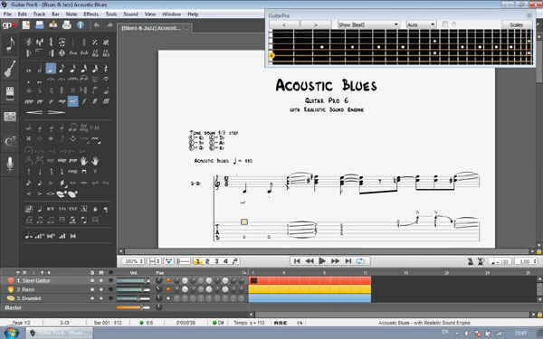 guitar pro tabs software