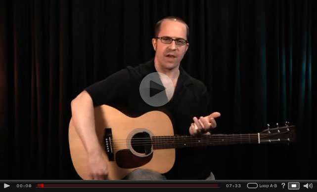 how to strum guitar chords