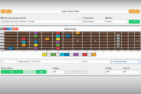 online guitar learning software