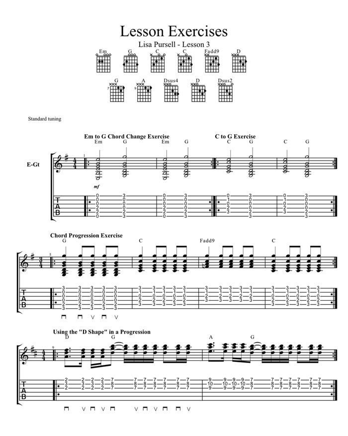 Learning To Play Chords Open Chords