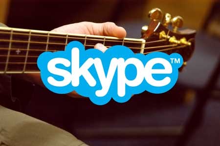 skype guitar lessons price
