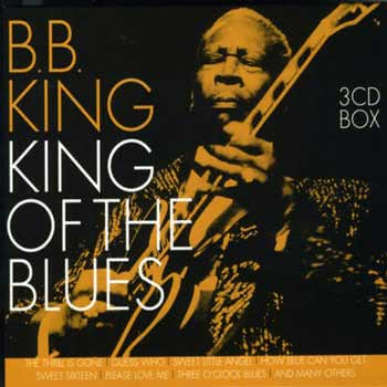 bb king blues chord progressions