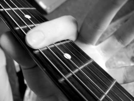 How to play barre chords easily?