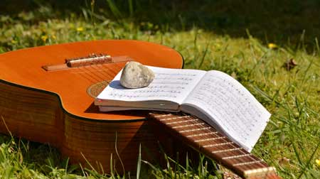 songbook for a guitar player