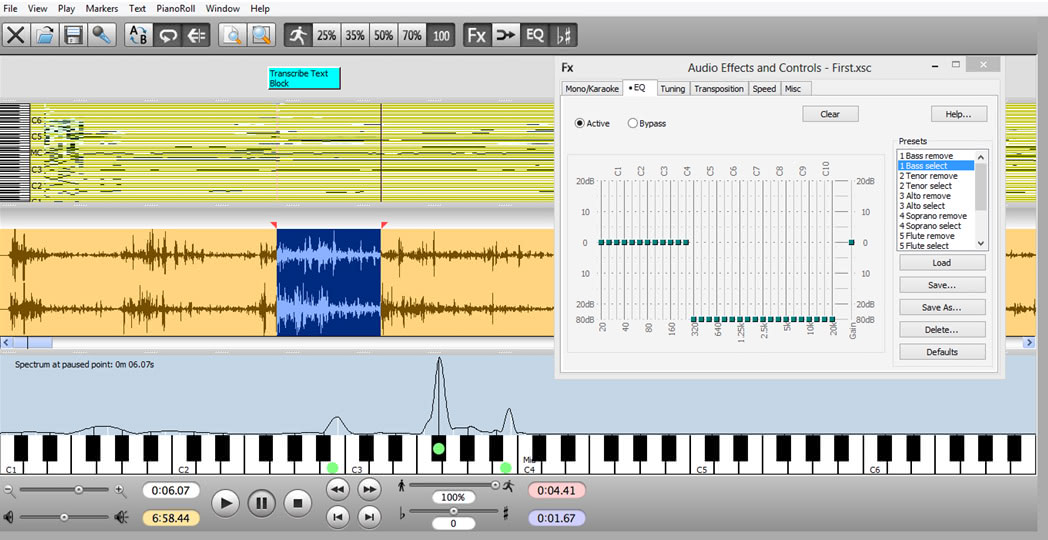 Music Transcription Software Free : transcribe software to help transcribe recorded music ~ Vivirlamusica.com Haus und Dekorationen
